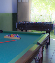 Pool and Football-Table